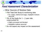 food assessment characterization248
