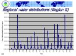 regional water distributions region g