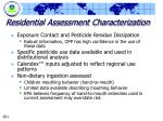 residential assessment characterization261