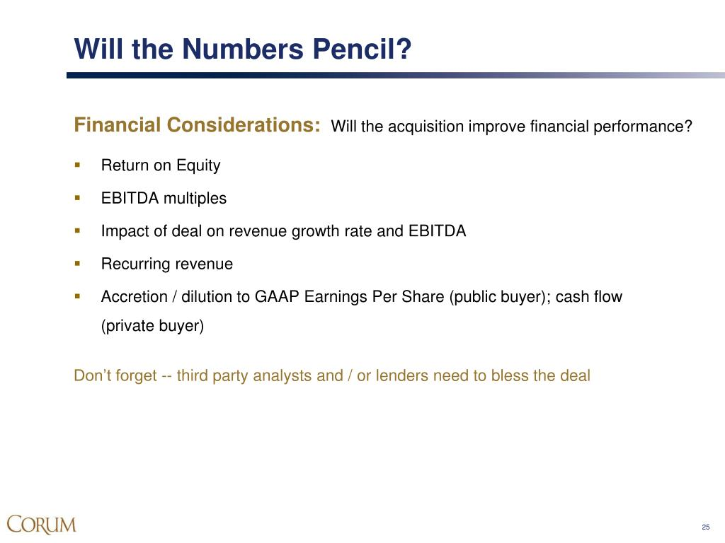 Will the Numbers Pencil?