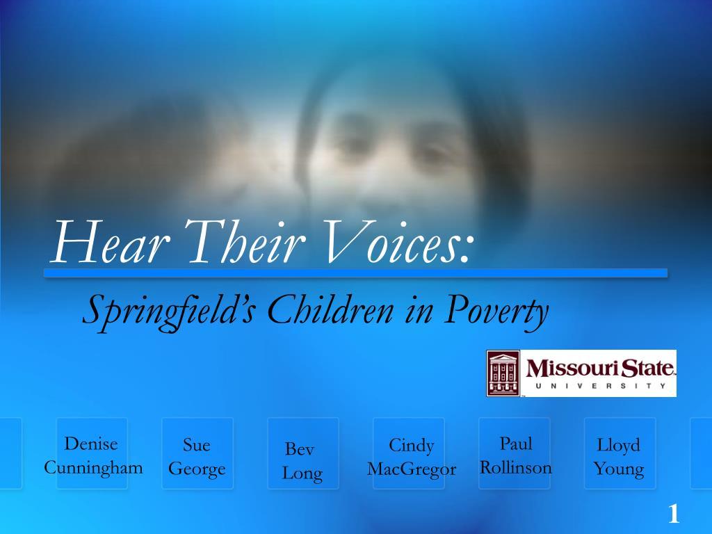 hear their voices l.