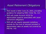 asset retirement obligations9