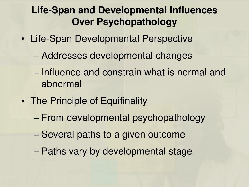lifespan development influences of nature and