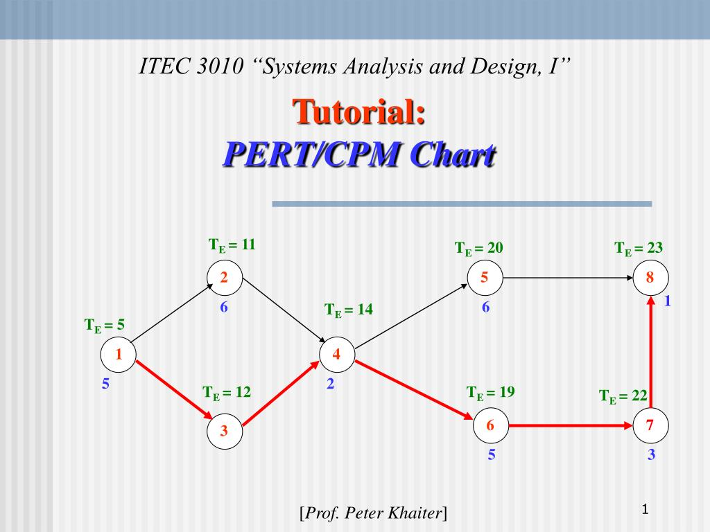 What Is Pert Cpm  What Is Pert  Program Or Project
