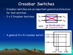 crossbar switches
