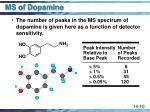ms of dopamine10