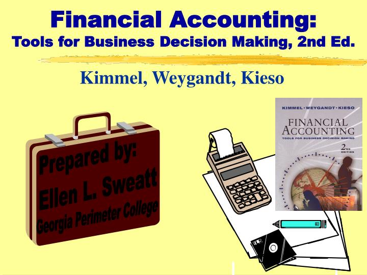 financial accounting tools for business decision making 2nd ed n.