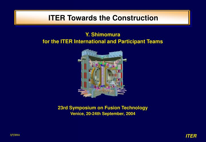 iter towards the construction n.