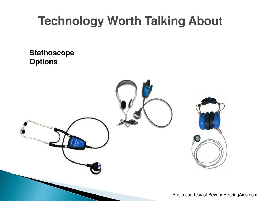 Technology Worth Talking About