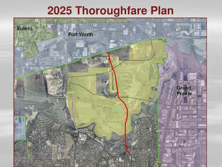 2025 Thoroughfare Plan