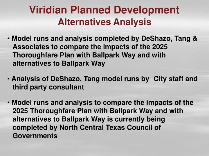 Viridian Planned Development