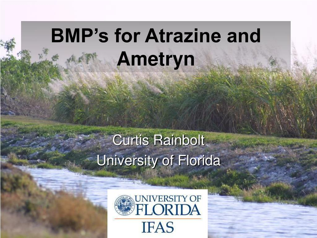 bmp s for atrazine and ametryn l.