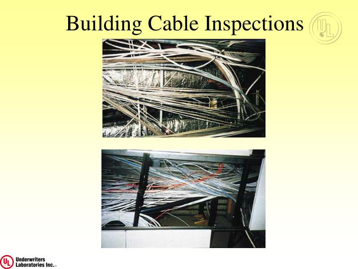 Building Cable Inspections