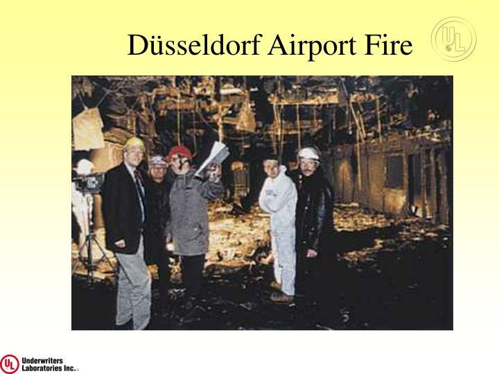 Düsseldorf Airport Fire
