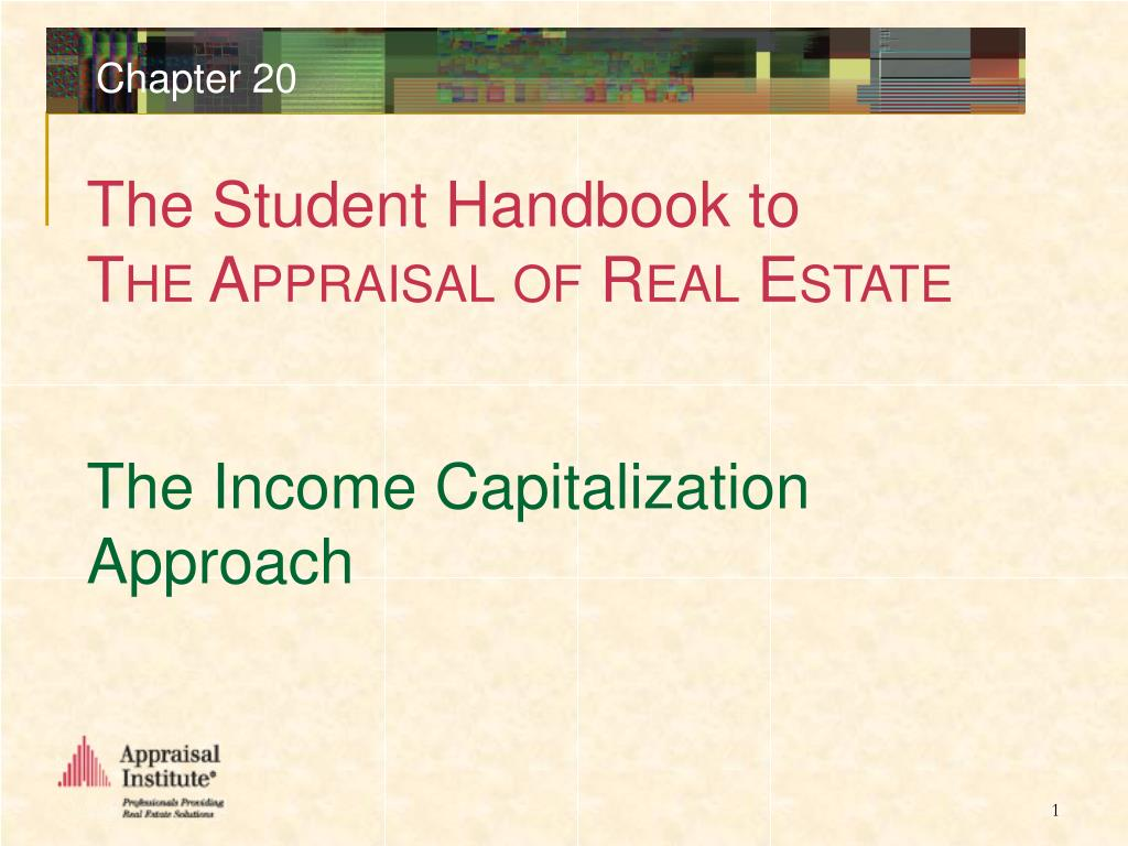 the income capitalization approach l.