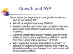 growth and ayp