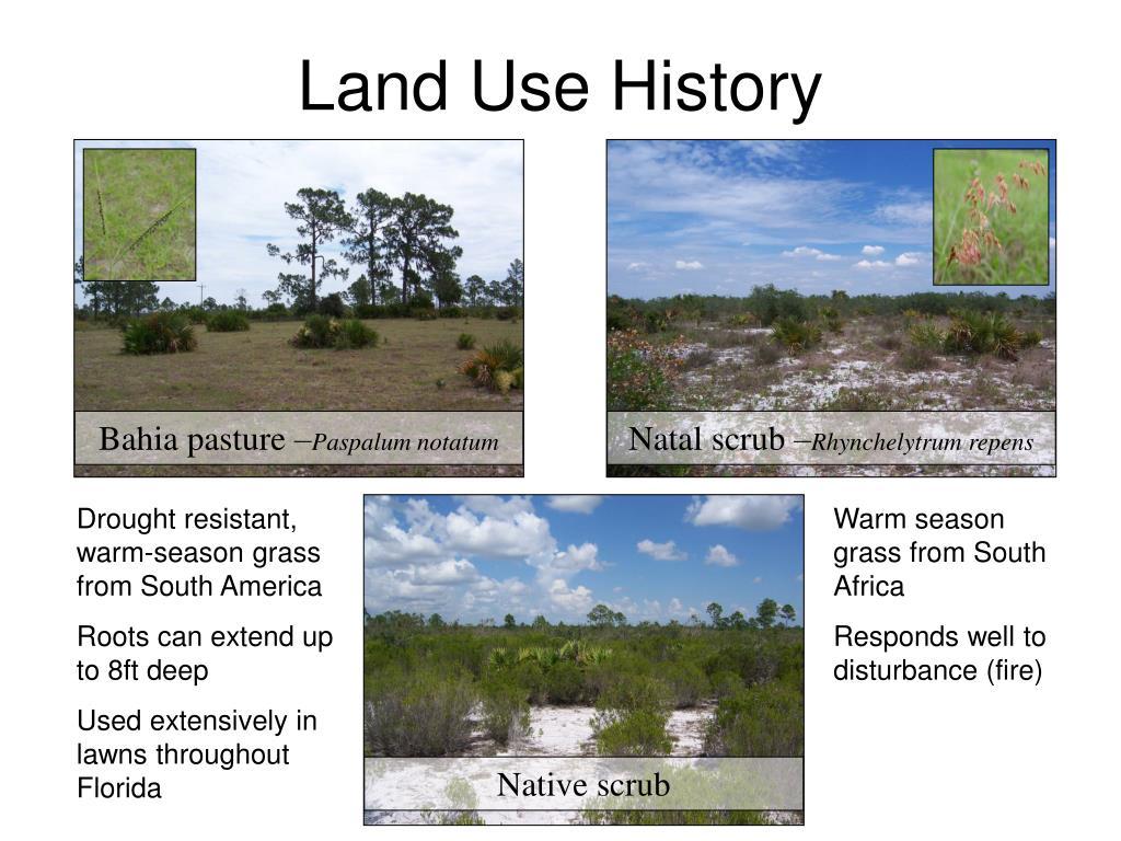 Land Use History