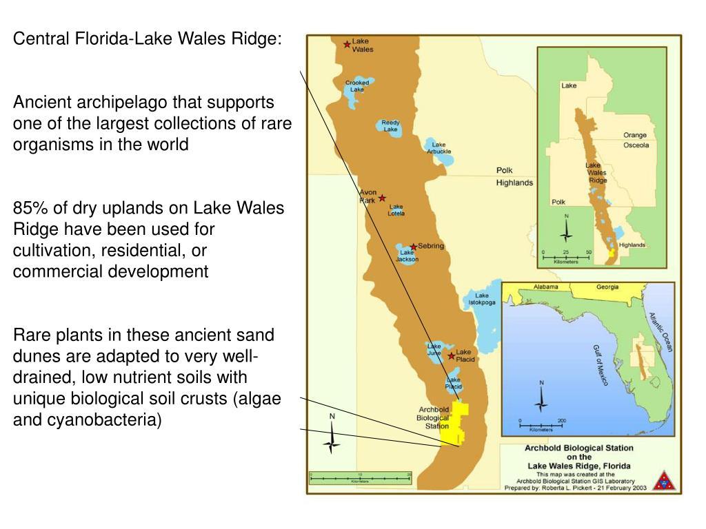Central Florida-Lake Wales Ridge: