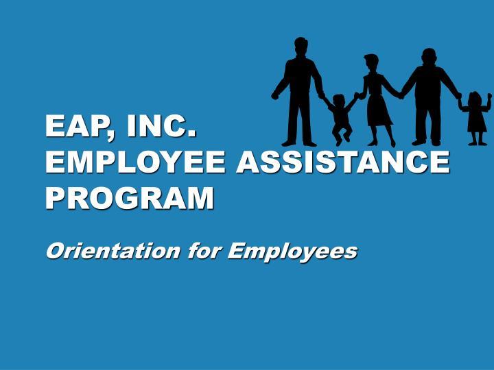 eap inc employee assistance program n.