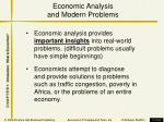 economic analysis and modern problems
