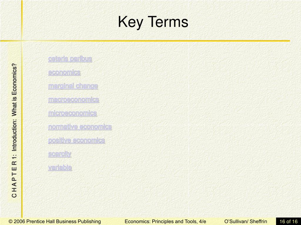 PPT - Introduction: What is Economics? PowerPoint