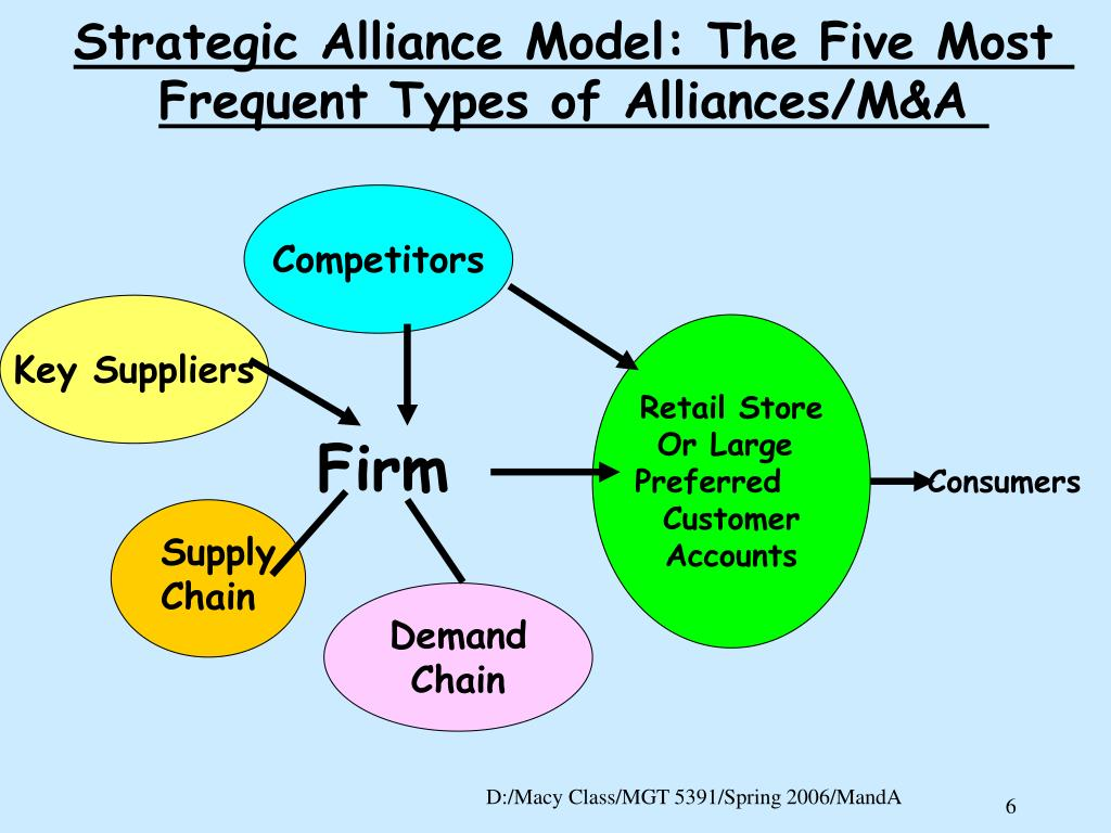 Strategic Alliance Model: The Five Most