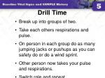 drill time