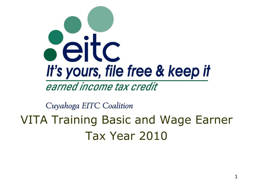 vita training basic and wage earner tax year 2010 l.