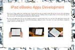 ipad ebooks apps development