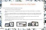 web development for ipad tablet