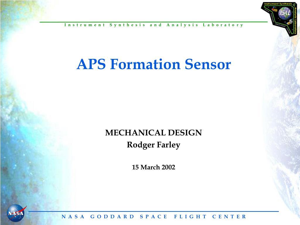 aps formation sensor l.