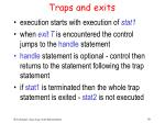 traps and exits38