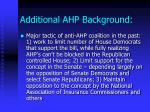 additional ahp background14