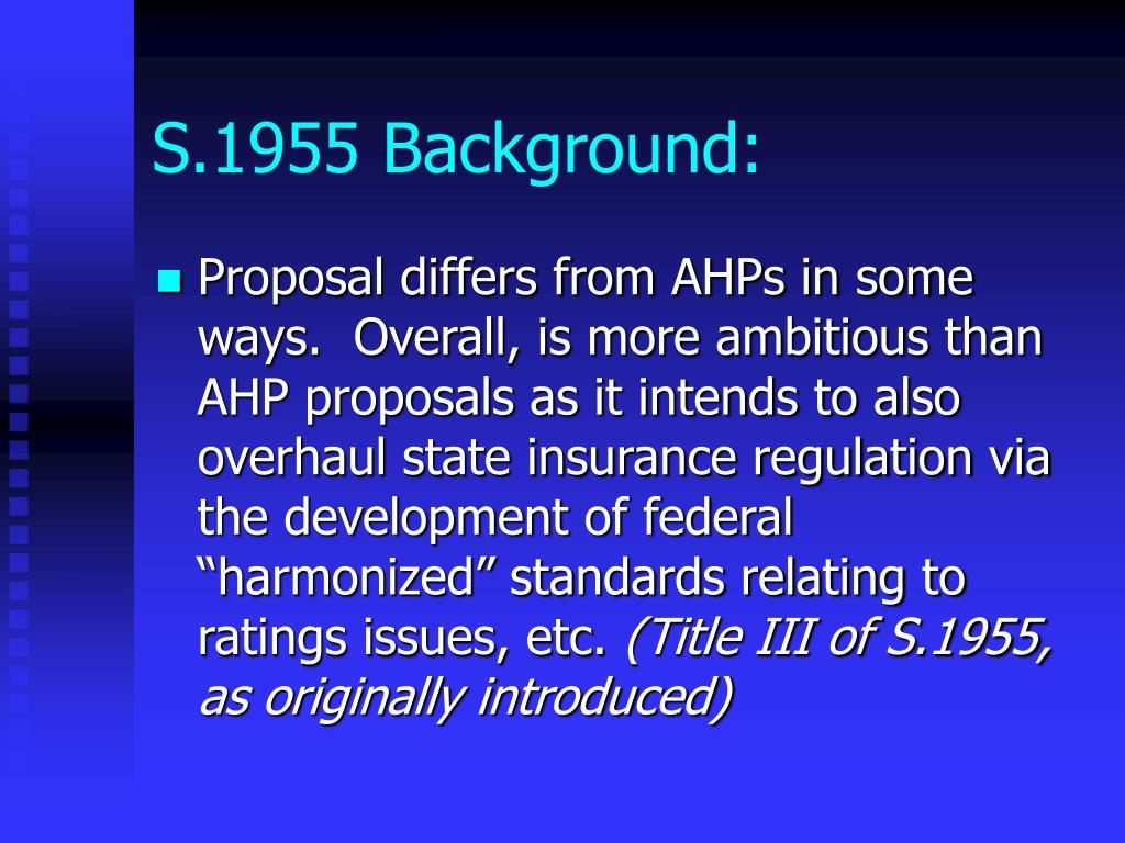 S.1955 Background: