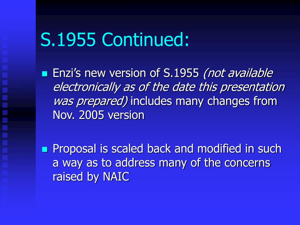 S.1955 Continued: