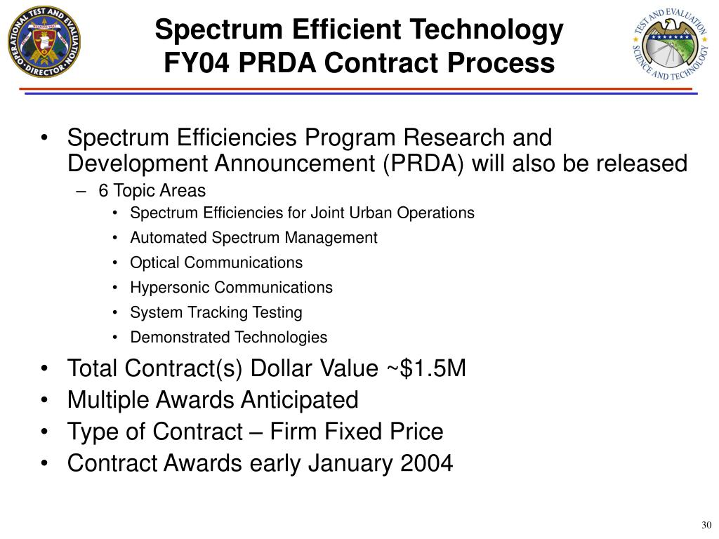 Spectrum Efficient Technology