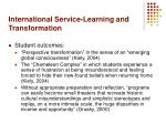 international service learning and transformation20
