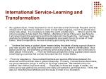 international service learning and transformation21