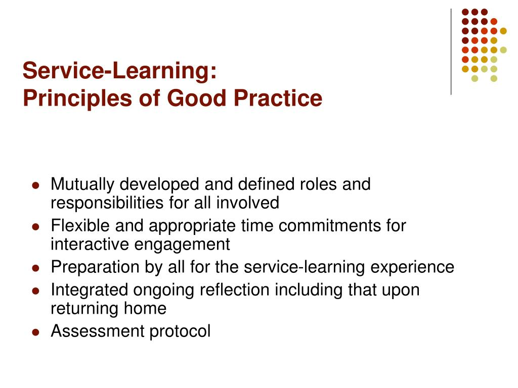 Service-Learning: