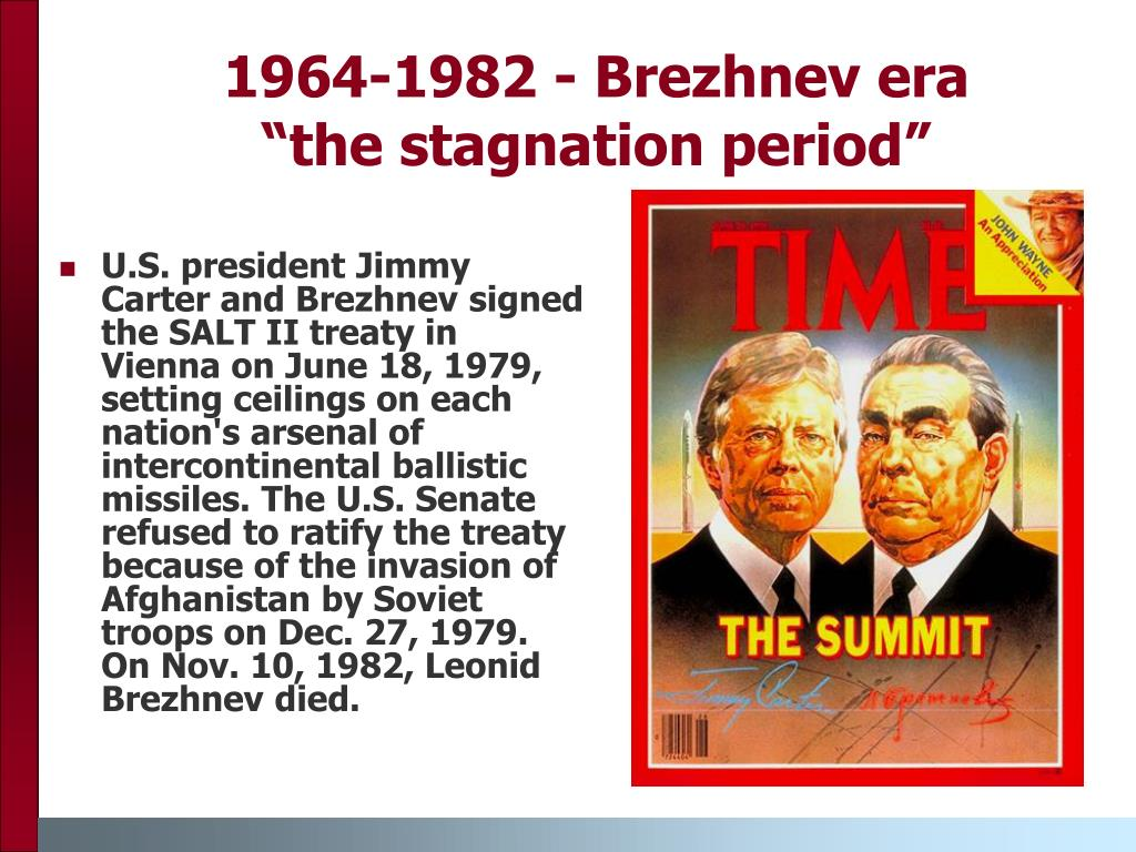 era of stagnation