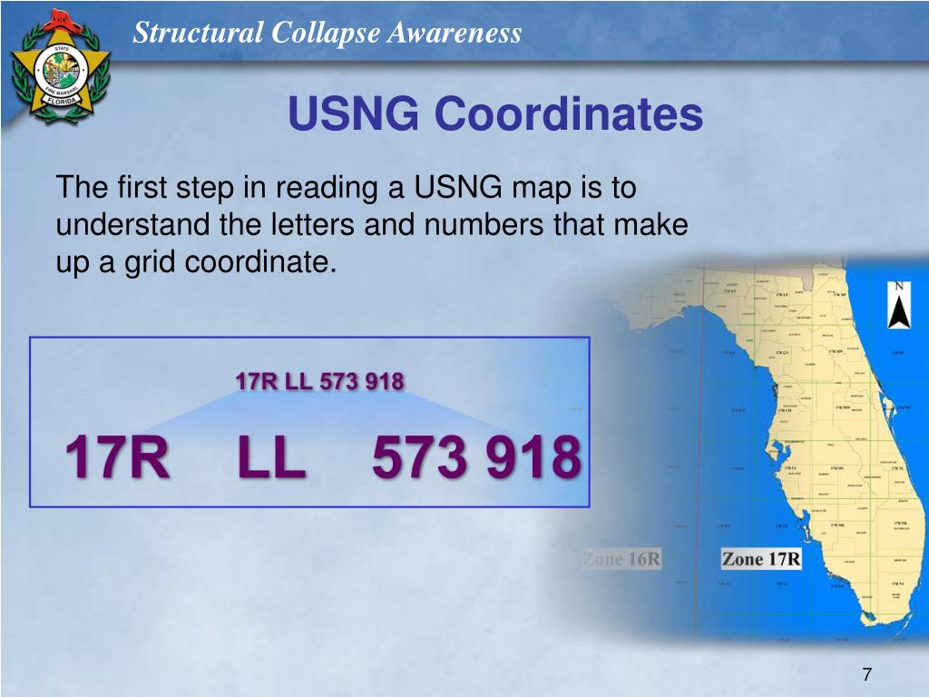 USNG Coordinates