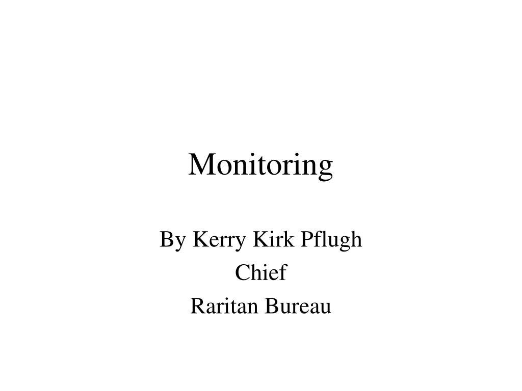 monitoring l.