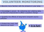 volunteer monitoring
