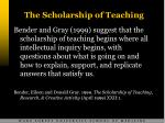 the scholarship of teaching10