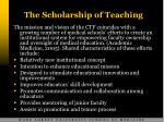the scholarship of teaching9
