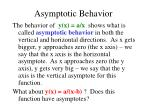 asymptotic behavior51