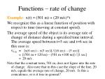 functions rate of change16