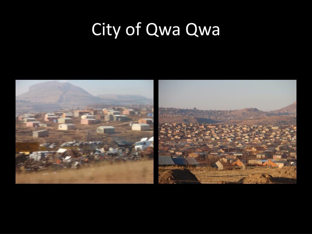 City of Qwa Qwa