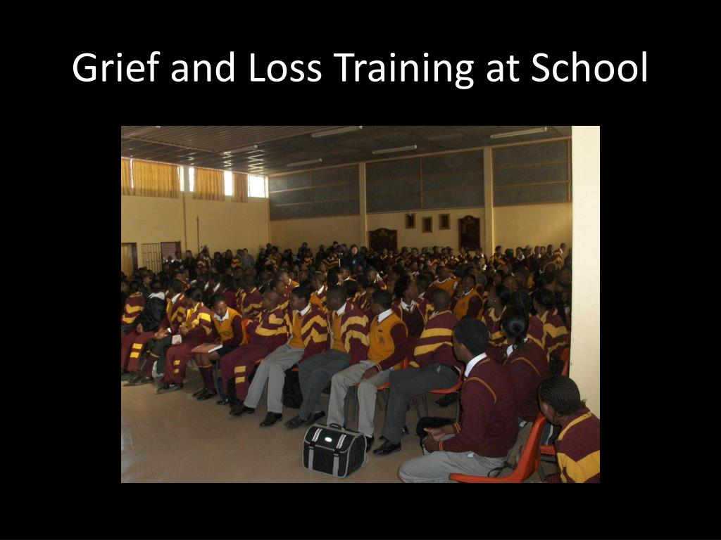 Grief and Loss Training at School