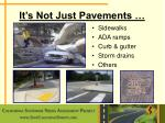 it s not just pavements